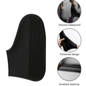 Skobeskyttere i sorte 100% silikone